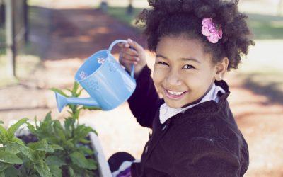 Children Love to Garden