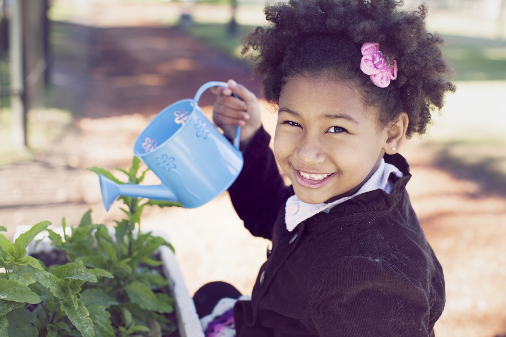 Children Love to Garden