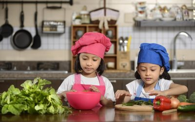 Healthy Cooking For Kids, By Kids